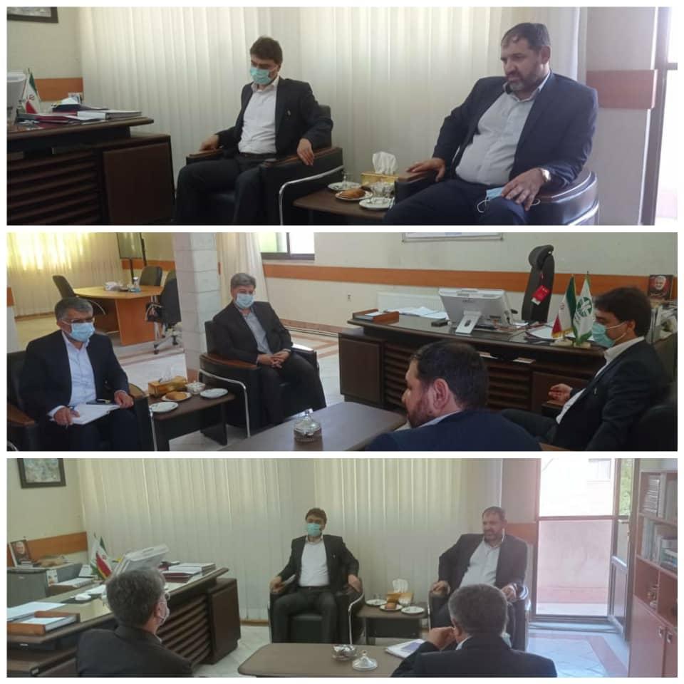 رئیس سازمان صمت خراسان شمالی با مدیر کل محیط زیست استان دیدار کرد